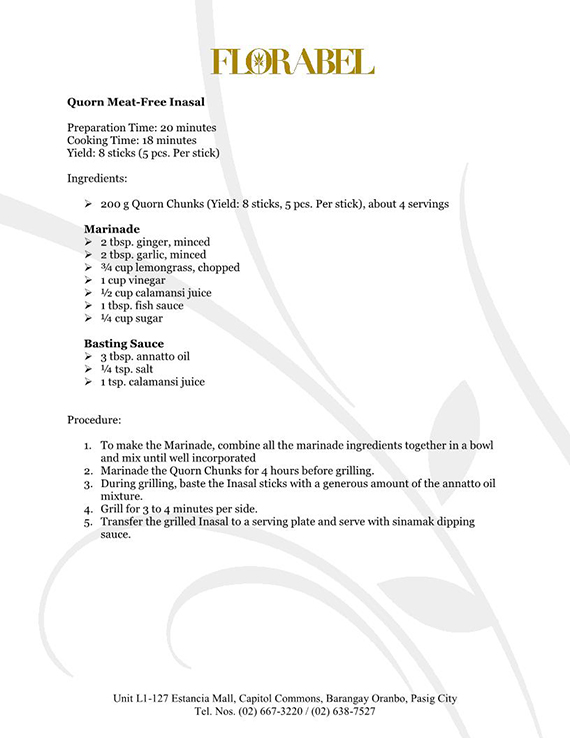 Florabel Quorn Recipes FINAL9