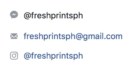 Fresh Prints contact