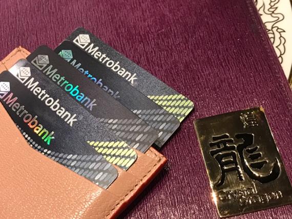 Metrobank card at Crystal Dragon Crown Towers Hotel (5)