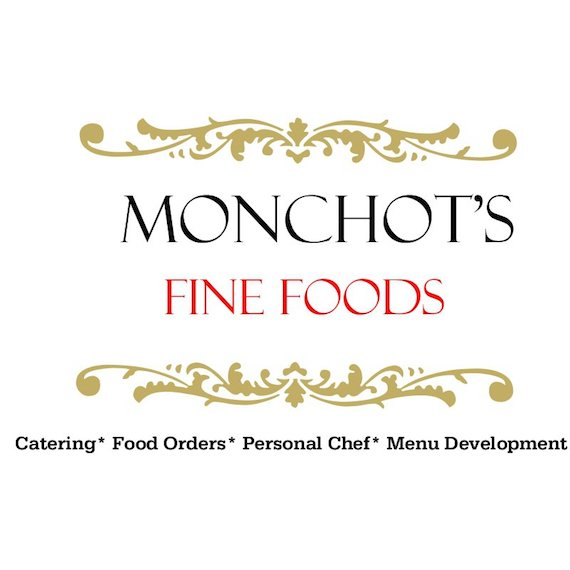 Monchots fine foods catering logo