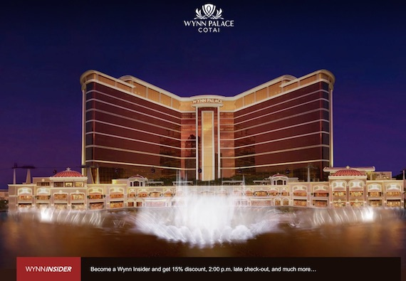Wynn palace cotai website