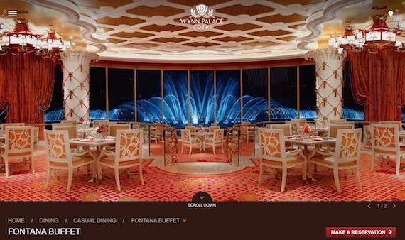 fontana buffet wynn palace cotai