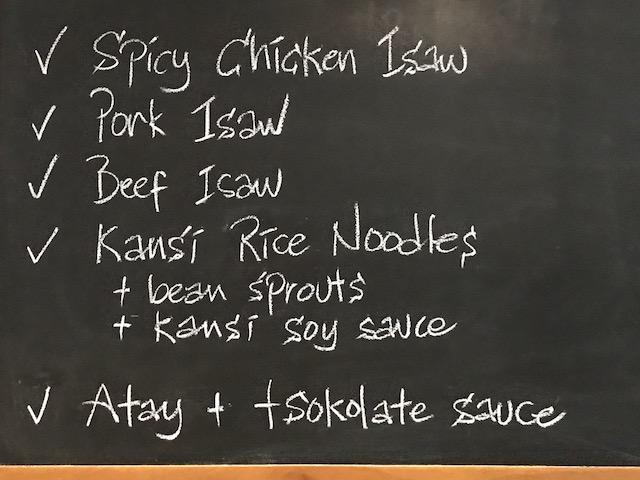 sarsa 2 menu 1