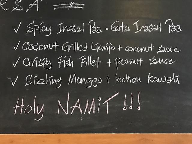 sarsa 2 menu 2