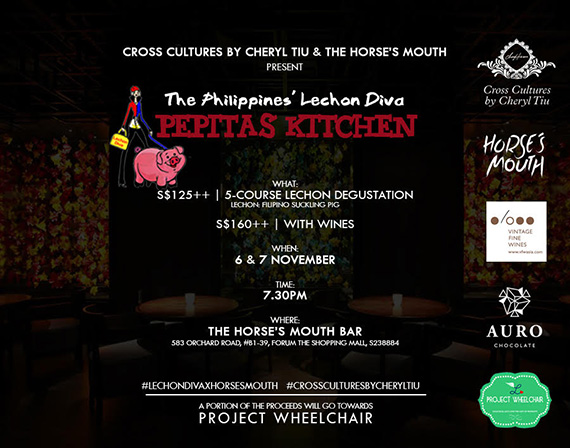 Cross Cultures Brings The Philippines' Lechon Diva To Singapore! (Nov 6 & 7) (2)