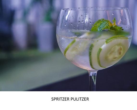 DRINKS - SPRITZER PULITZER