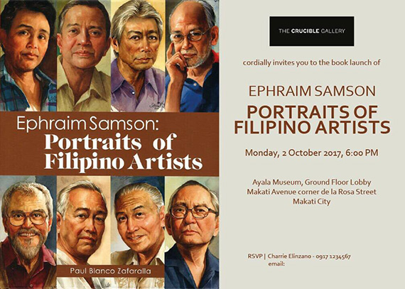 Ephraim Samson Portraits of Filipino Artists (1)