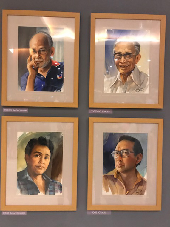 Ephraim Samson Portraits of Filipino Artists (13)