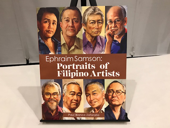 Ephraim Samson Portraits of Filipino Artists (16)