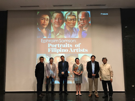 Ephraim Samson Portraits of Filipino Artists (19)