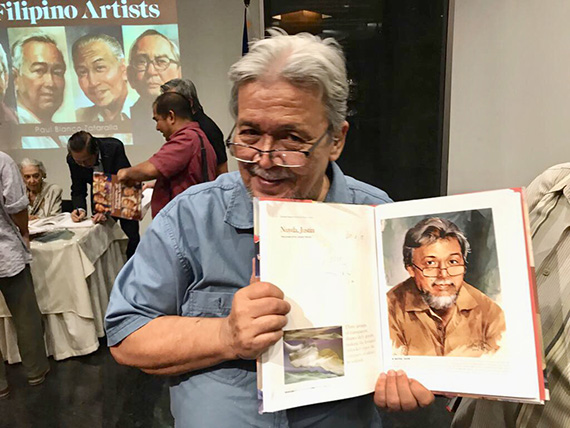 Ephraim Samson Portraits of Filipino Artists (28)