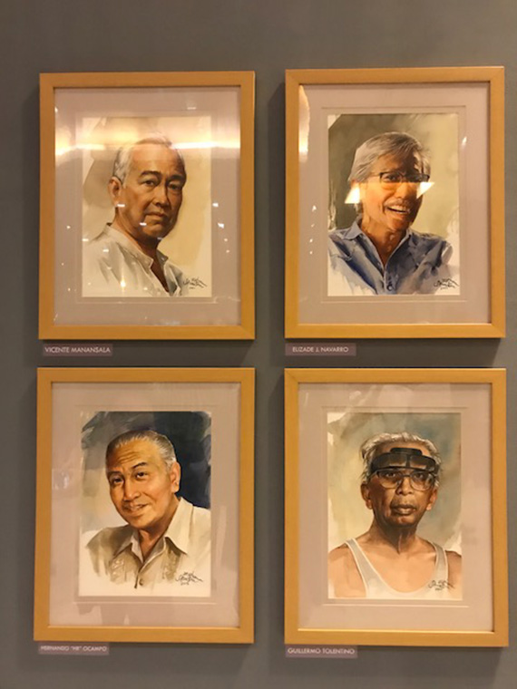 Ephraim Samson Portraits of Filipino Artists (31)