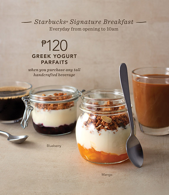 Greek Yogurt Parfaits