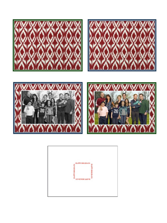 Holiday Photo Cards for APEC Schools (2)