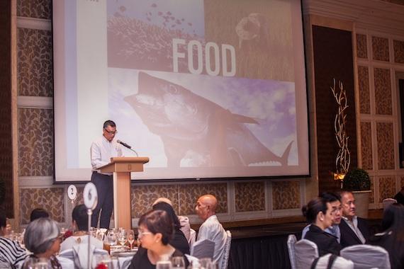 Joel Palma WWF sustainable benefit dinner