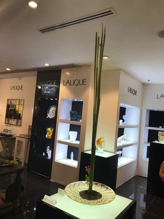 Lalique and Ikebana (2)