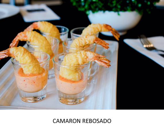 TAPAS - CAMARON REBOSADO