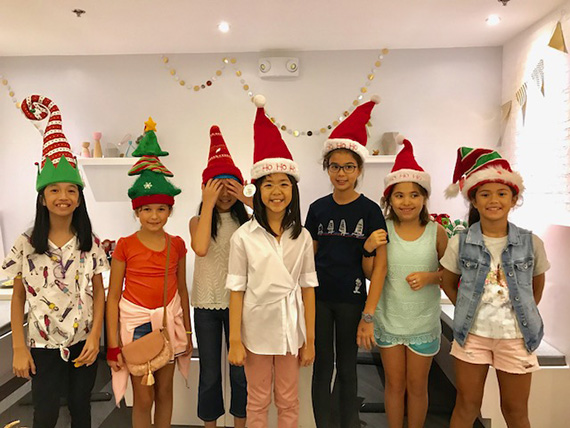 Aria's Xmas Party at the Bunny Baker (34)