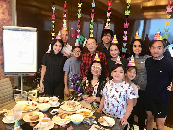 Birthday Breakfast at the Executive club (10)