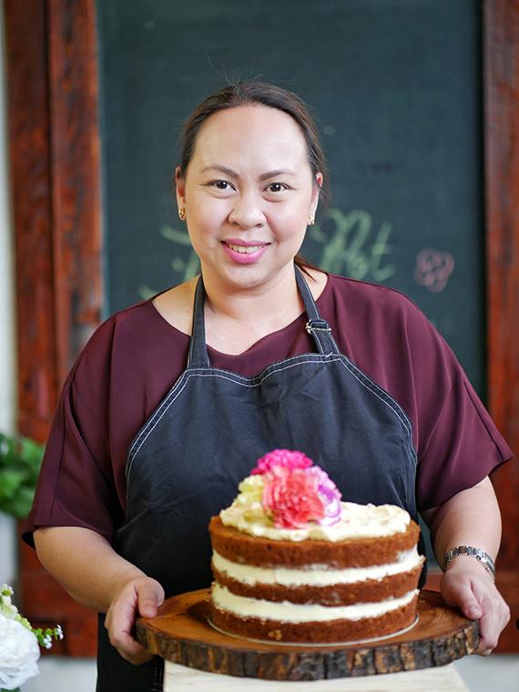 Chef Rhea Castro-Sycip