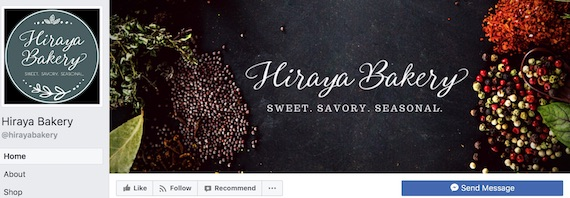 Hiraya Bakery facebook