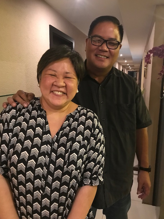 Bessie and Noel Uy BEtsys Cake malabon