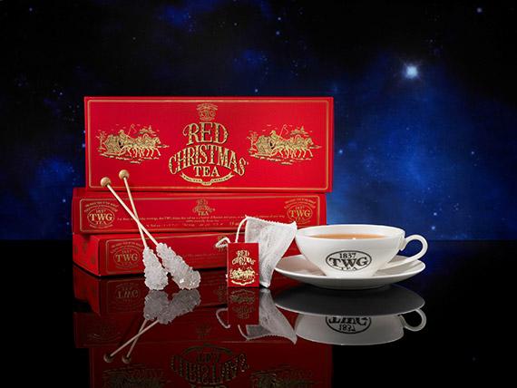 Red Christmas Teabag Giftbox