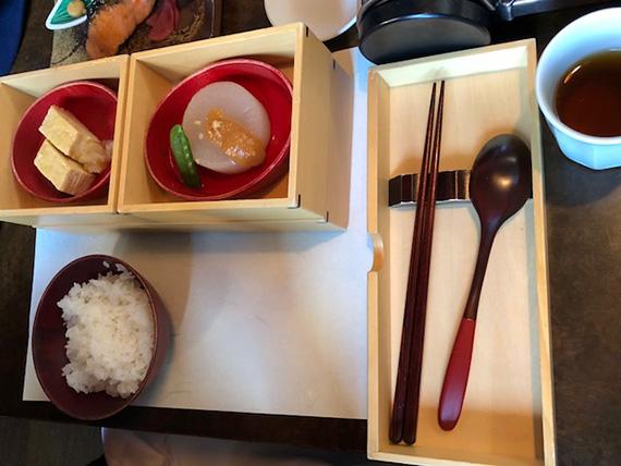 Breakfast at Hoshinoya Resort (1)