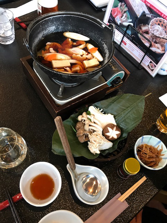 Cafeteria in Hoshino (1)