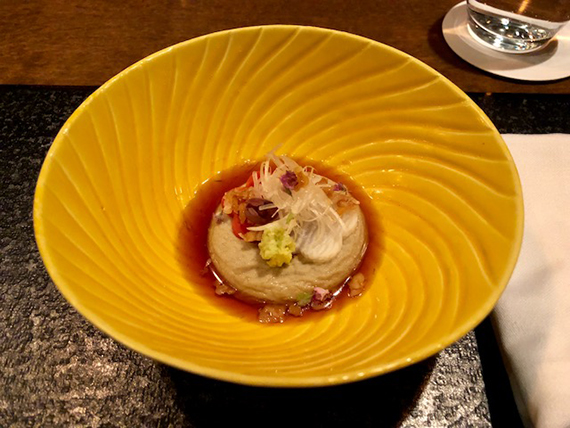 Dinner at Hoshinoya Resort (1)