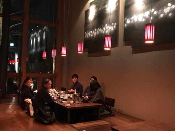 Dinner at Hoshinoya Resort (35)