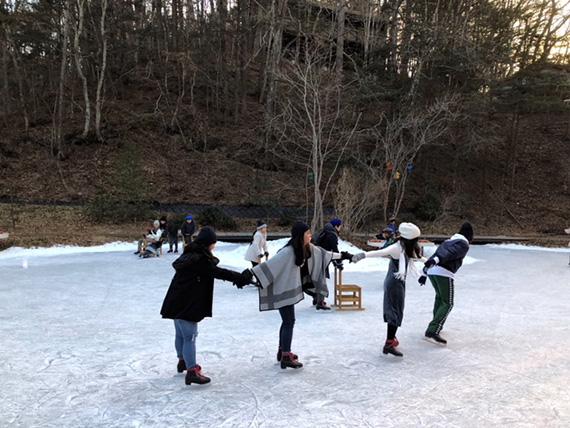 Ice Skating at Hoshino (1)
