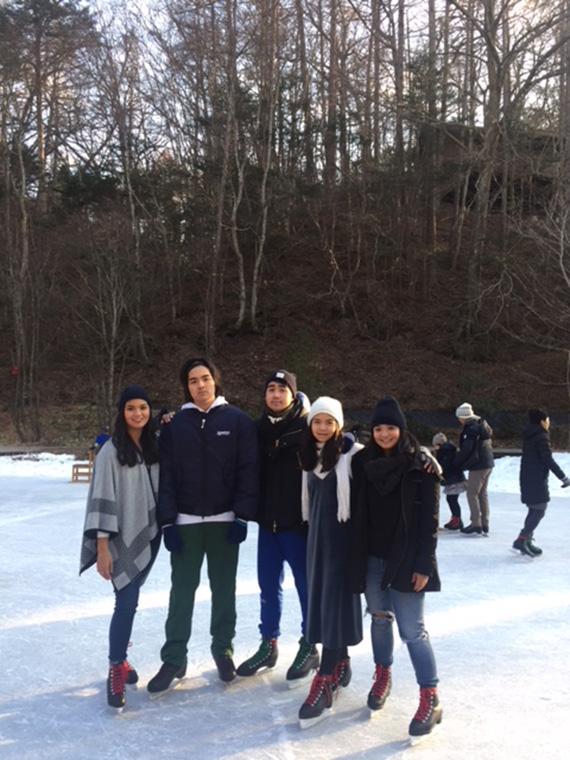 Ice Skating at Hoshino (2)