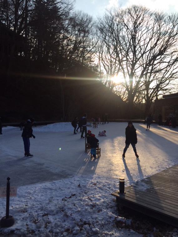 Ice Skating at Hoshino (3)