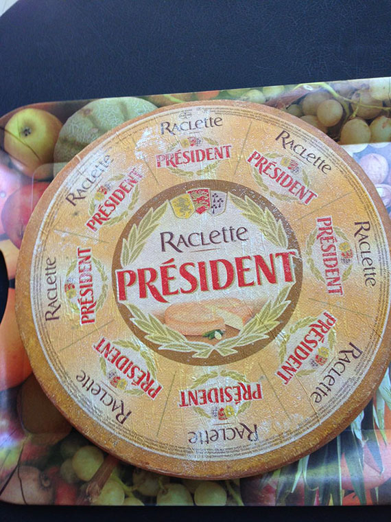 Raclette by President (3)