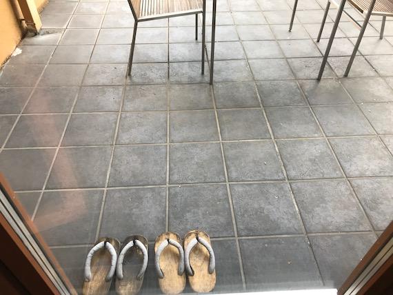 hoshinoya resort karuizawa terrace slippers