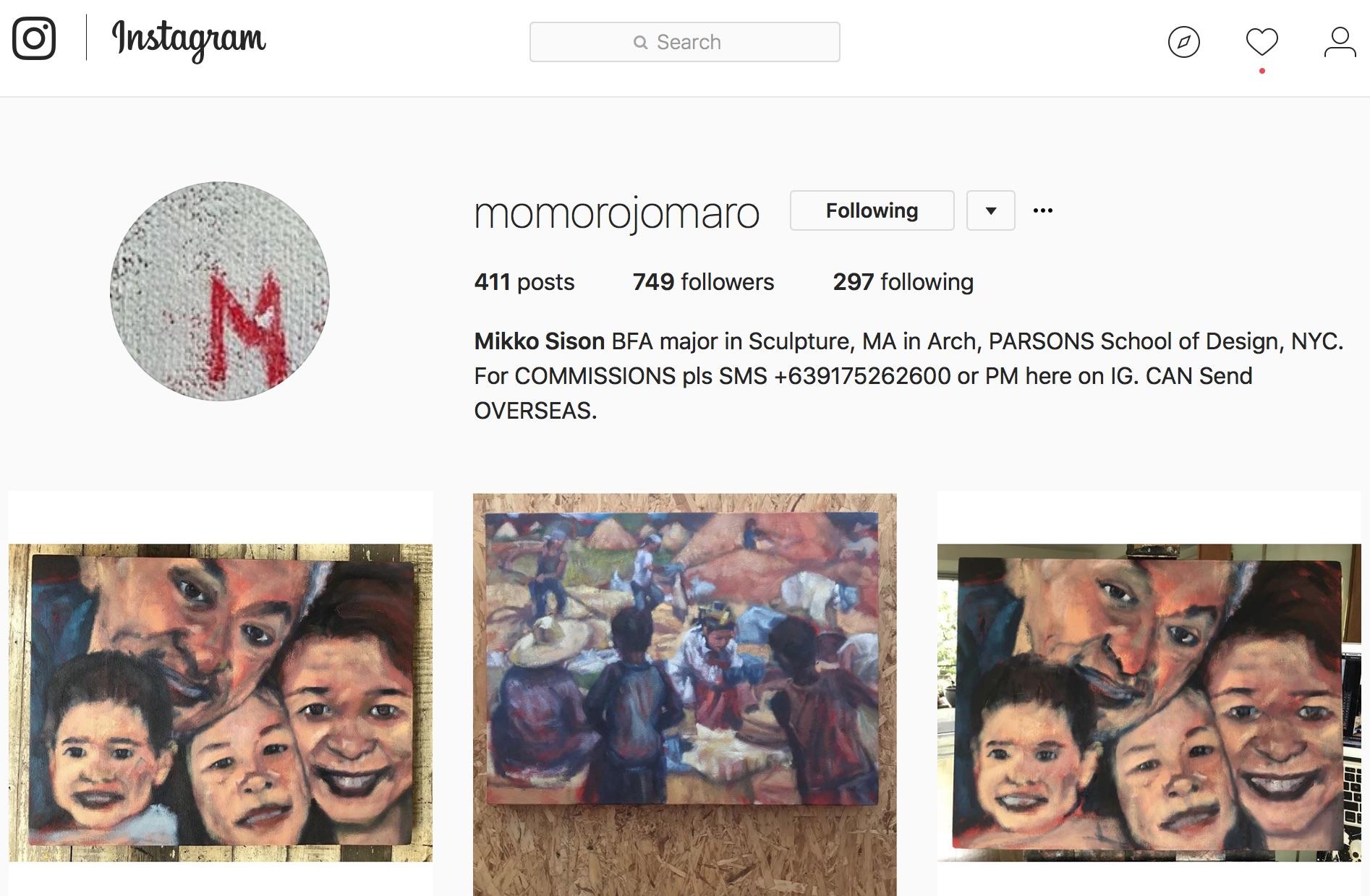 momorojomaro instagram mikko sison portraits