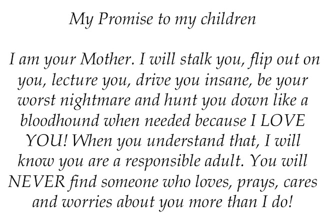 My Promise To My Children Quotes Promo Time